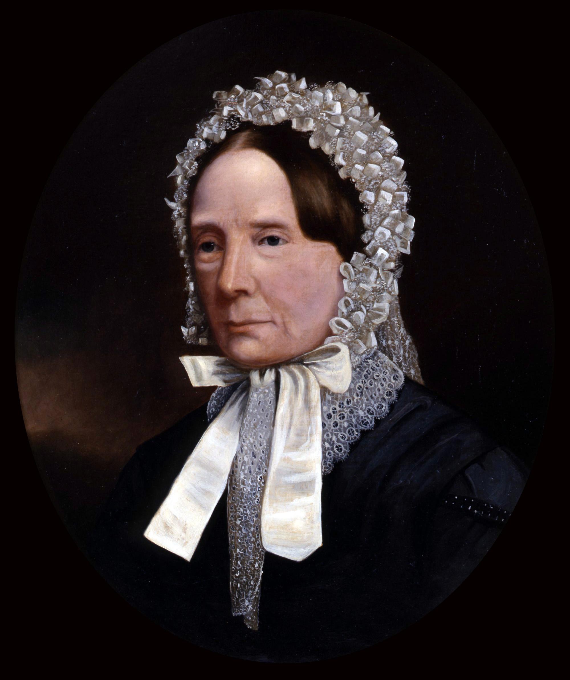 Mrs Clementina Burns (née Grant)